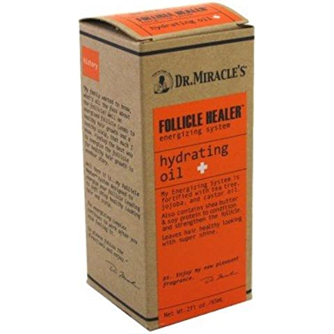 Dr. Miracle's Follicle Healer Hydrating Oil 2 oz (Set of 3) by Dr. Miracle's