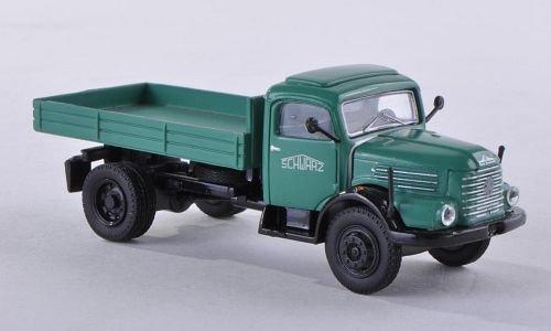 Steyr 380/II Kipper, Schwarzbau , Modellauto, Fertigmodell, Brekina Starline 1:87