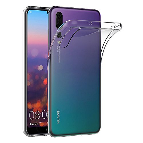 Coque Huawei P20 Pro, AICEK Transparente Silicone Coque pour Huawei P20 Pro Housse Silicone Etui Case (6,1 Pouces)