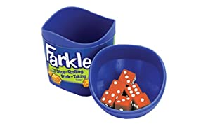 Patch Products Farkle Game Cup Assortment-2 Each of Blue, Orange & Purple