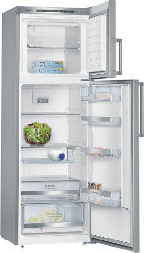 Siemens KD33EAI40 iQ500 Kühlgefrierkombination / A+++ / Kühlen: 232 L / Gefrieren: 71 L / Edelstahl / Chrome Inox-metallic / Anti-Fingerprint / FlexShelf
