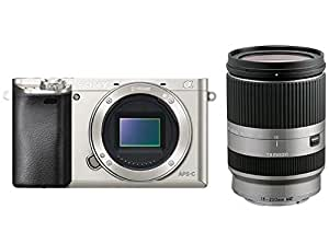 Sony α6000 + Tamron 18 - 200mm - digital cameras (Auto, Cloudy, Daylight, Flash, Fluorescent, Incandescent, Shade, Underwater, Landscape, Night portrait, Portrait, Sunset, Neutral, Vivid, Electronic, Battery, MILC)