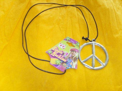 WIDMANN Hippie-Medaillon Metall Zubehör für ()
