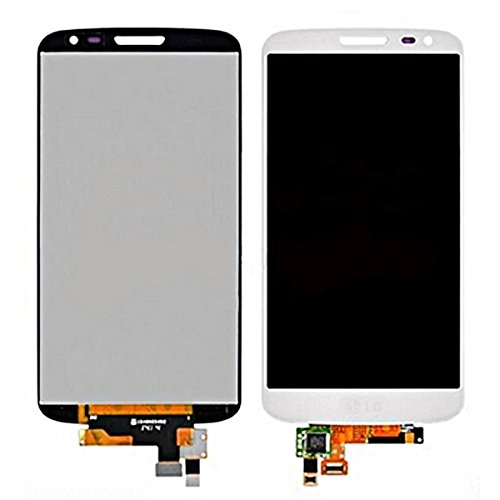 Jasmin FS IPartsBuy LCD Display + Touchscreen Digitizer Assembly für LG G2 Mini D620 / D618 Ersatz-LCD-Bildschirm für LG G2 Mini Displayschutz (Farbe : Weiß) (Lg G2 Display Lcd Austausch)