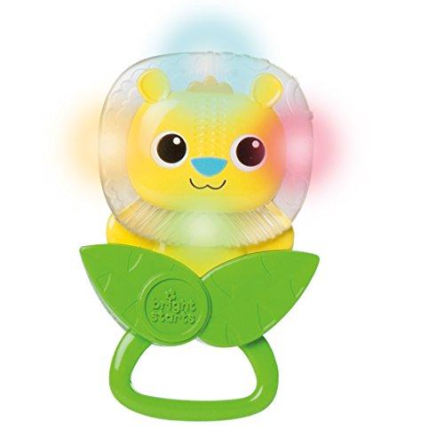 Bright-Starts León Shake & Light, juguete con sonido (KidsII 10534)