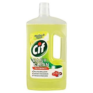 Cif–, Easy Clean Floors cleaner, with Lift-action, Garden of Lemons–1000ml