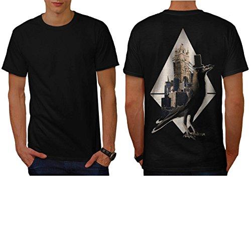 bird-in-london-city-tower-bridge-men-new-black-l-t-shirt-back-wellcoda