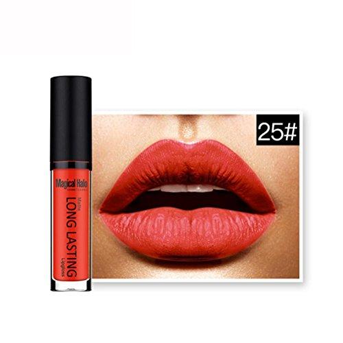 Yogogo - Rouge à lèvres - rouge à lèvres liquide imperméable à l'eau - Longue Durée - Matte brillant à lèvres - Magical Halo