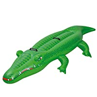 Jilong Crocodile Rider 2 - swimming crocodile with handles, 200x110 cm