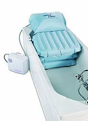 Komfort Badekissen Mangar Badewannenlifter mit aufblasbarem Luftkissensystem, TÜV, sicher bis 150kg, Komplettset