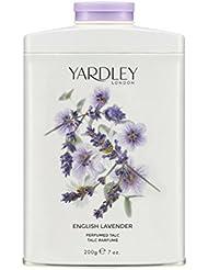 YARDLEY English Eau de Toilette Talc Lavande 200 g