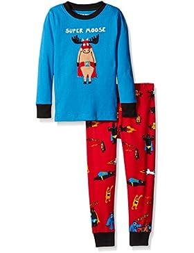 Hatley Long Sleeve Appliqué Pyjama Set, Conjuntos de Pijama para Niñas