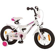 Little-Dax Bicicletta bambini 14 Pollici DANA - bianco - rosa, 14 Zoll