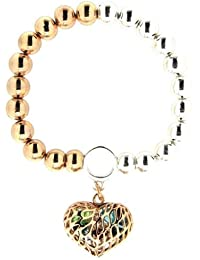Sweet Deluxe Damen-Armband Messing Aurelle too tone silber/gold 2882