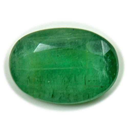 GemsOnClick Echten kolumbianischen Smaragd lose Edelstein 2,3Karat Chakra Heilung Bead für Schmuckherstellung Wholesale Rate
