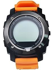 Reloj inteligente las niñas niños multifunción reloj inteligente + reloj teléfono móvil–naranja S-928remoto de la cámara y reproducción de vídeo, grabación banda de reloj deportivo para hombres