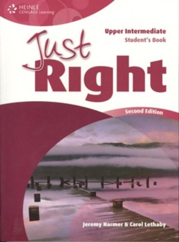 Just Right Upper Intermediate: Workbook with Key and Audio CD por Carol Lethaby