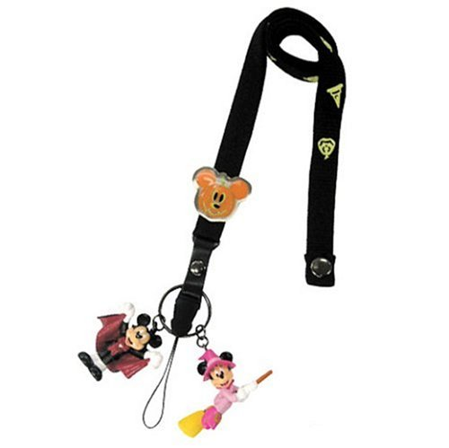 DISNEY Halloween Pumpkin neck piece (Mickey & Minnie) (japan import)