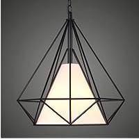 GS~LY American arte moderna soggiorno lampadari in ferro birdcage creative Diamond restaurant luminosa camera da letto lampada illumina la piramide di studio