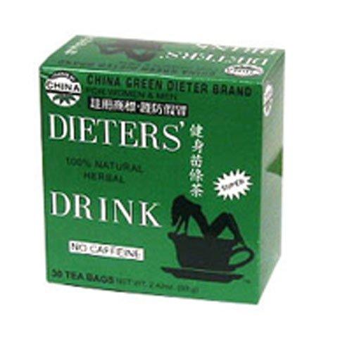 Uncle Lee's Tea, Legends of China, Dieter's 100% Natural Herbal Drink, No Caffeine, 30 Tea Bags, 2.42 oz (69.g) (6 pack)