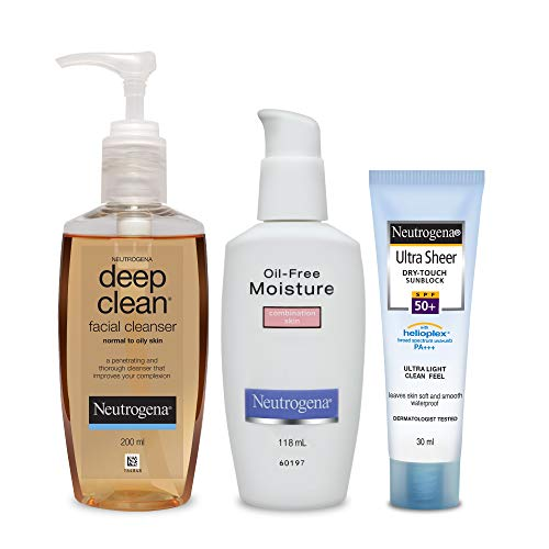 Neutrogena Combination Skin Care Kit (Combo Of 3)