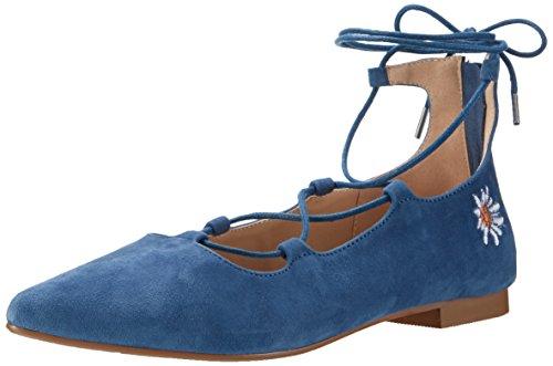 Andrea Conti Damen 3123400 Geschlossene Ballerinas Blau (Jeans)