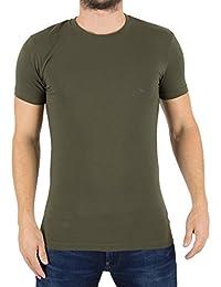 Emporio Armani Homme Crew Neck Logo T-shirt, Vert