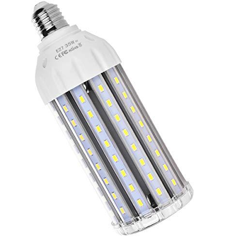 MHtech E27 35W Bombilla LED Lámpara Luz Blanco Frio 6500K Ángulo de...