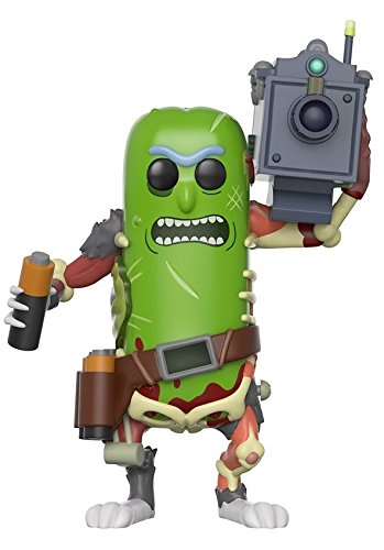 Funko - Figurine Rick And Morty - Pickle Rick With Laser Pop 10cm - 0889698278621