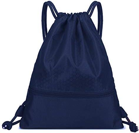 Nosterappou Gli Uomini e e e Le Donne Impermeabile Leggero Pieghevole Sport di Viaggio all'aperto Zaino Semplice Fitness Bag Tasche Fascio Coulisse Zaino Tasca Fascio Casuale | scarseggia  | Aspetto estetico  | Ottima qualità  | Cheapest  d0ffcf