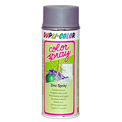 Duplicolor 651557 Color Spray Spécial Zinc Spray, 400 ml