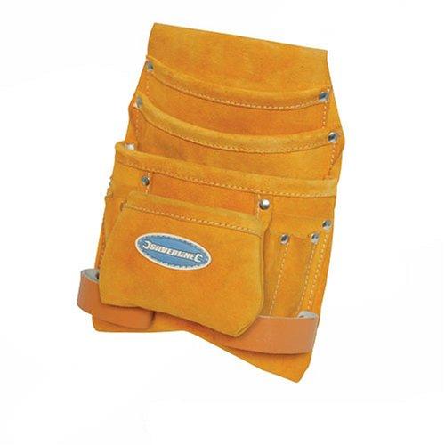 Silverline 71981410Pocket Wildleder Nagel und Werkzeugtasche (Wildleder Tasche Leder Nagel)