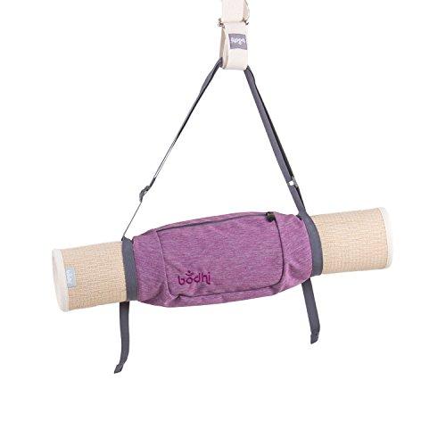 """bodhi Yogatasche""""Roll'n'Go"""", kleine Yogamatten-Tasche für Minimalisten, mit Fach für Kleinteile, leicht und tragbar wie ein Tragegurt (be..."""