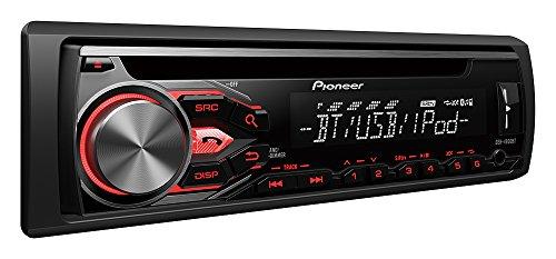 pioneer deh 4800bt multifunktionales cd autoradio mit bluetooth freisprecheinrichtung inkl. Black Bedroom Furniture Sets. Home Design Ideas