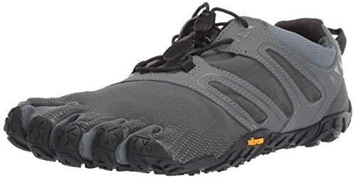 Vibram FiveFingers Herren V-Trail Traillaufschuhe, Grau Dark Grey/Sage, 47 EU