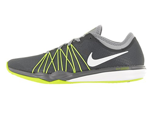 Nike Damen W Dual Fusion Tr Hit Prnt Wanderschuhe Dark Grey/White-Stealch-VO