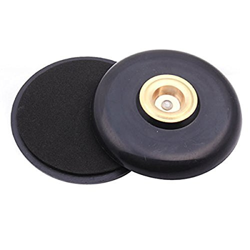 Tinksky Stachel Cello Stopper Stop Inhaber Spike Floor Protector Anti-Rutsch-Pad (Schwarz)