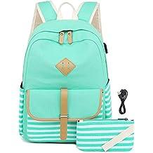ventas calientes fina artesanía entrega rápida Amazon.es: mochilas para instituto chicas - Envío gratis