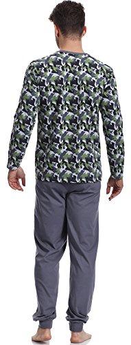 Timone Herren Schlafanzug 374 372 Muster-F2A