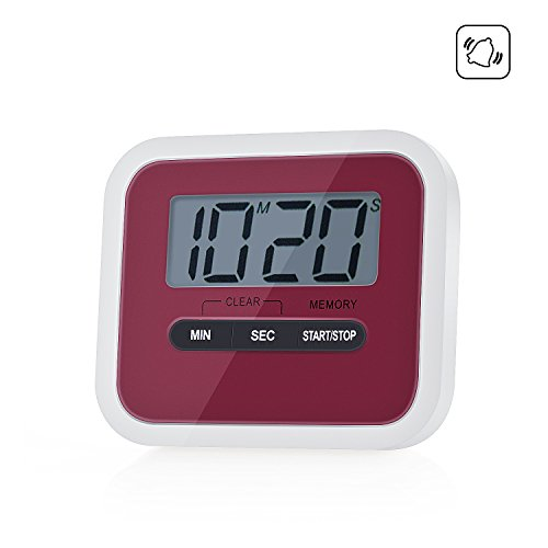 ZeWoo® Timer da Cucina Display LCD Digitale Timer Elettronico ...