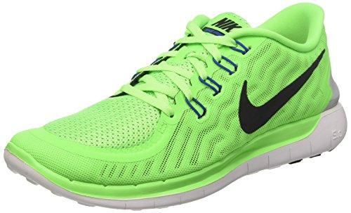 Nike Wmns Free 5.0 - Scarpe Sportive Donna, Verde (Grün), 40 1/2