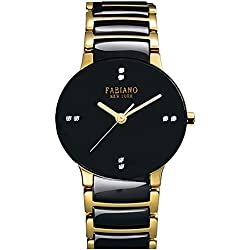 Fabiano New York Analog Black Dial Mens,Boys Watch - FNY010