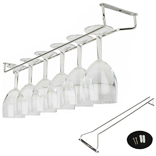 Aliciashouse 55CM Wine Champagne Goblet Glass Hanger Hanging Holder Hanging