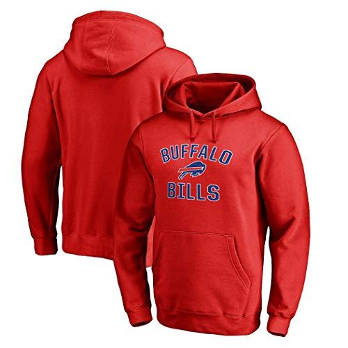 LELEHoodies Herren Sweatshirt for Bill Fußball Rugby Casual Fashion Jugend Jacke T-Shirt (Color : A, Size : XL)