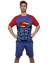 Superman - Pijama Corto Para Hombre