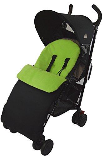 Saco/Cosy Toes Compatible con Buggy carrito para cochecito de bebé, color verde