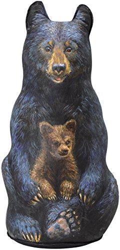 Schwarz Bär Türstopper, dekorative Türstopper, Animal Türstopper - Office Line Kollektion