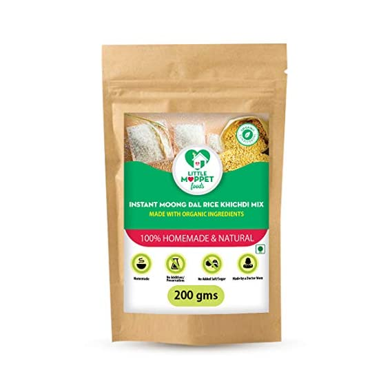 Little Moppet Foods Instant Moong Dal Khichdi Porridge Mix