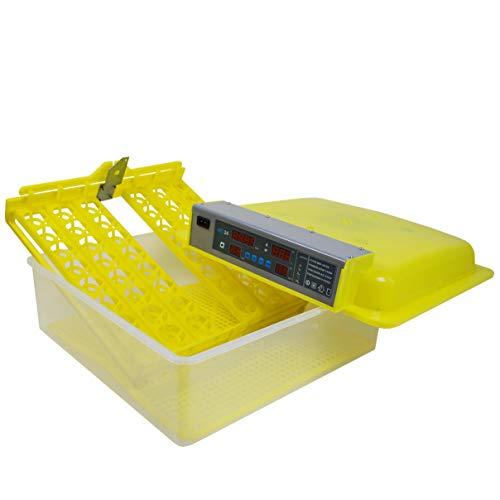 Inkubator Brutmaschine EW-48 mit Zeitschaltuhr, automatische Wendefunktion, Temperaturregler und Temperaturalarm - 3