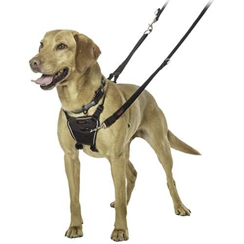 Halti Anti Pull Hunde Brustgeschirr (S) (Schwarz)